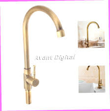 Ebay Kitchen Faucets Antique Brass Kitchen Water Tap Bathroom Sink Faucets Single