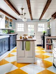 Wood Floor Kitchen by 25 Best Painted Kitchen Floors Ideas On Pinterest Painting