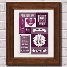 10 year wedding anniversary gift impressive 10 year wedding anniversary gift for husband topup