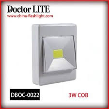 light switch cover night light china newly magnetic cordless switch light plastic 3w cob led wall