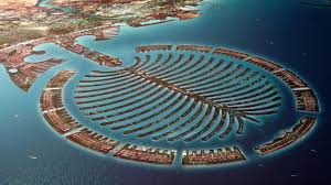 world famous palm city at dubai high definition wallpapers high