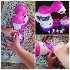 wishful wonderings easy nails nail spa for children