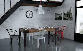 chaise industrielle maison du monde table industrielle maison du monde maison design bahbe com