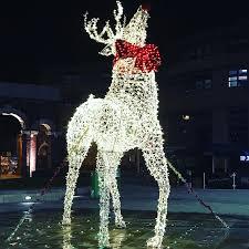 Deer Christmas Lights Christmas Decoration Led Light Reindeer Christmas Decoration Led
