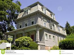 mansard roof victorian building stock photo image 1133710