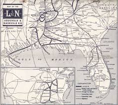 New York Central Railroad Map by Florala History Railroads Of Florala