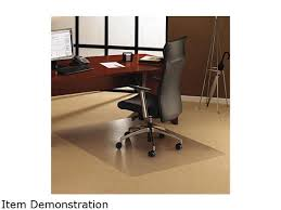 Desk Floor Mat Clear Cleartex Ultimat Polycarbonate Chair Mat For Low Medium Pile