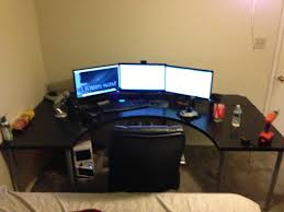 Gaming Computer Desks Gaming Computer Desk Ikea Best Home Furniture Ideas With Regard To