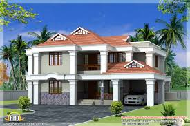 1500 square fit latest home front 3d designs house double floor