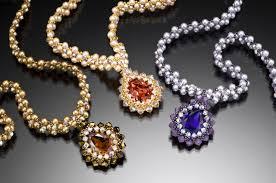 swarovski crystals necklace design images Crystal teardrop necklace kit 75 00 leslee frumin teacher jpg