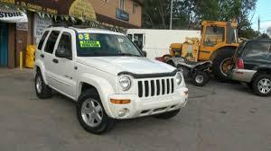 jeep liberty 2003 4x4 2003 jeep liberty 3 7 limited edition 4x4