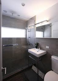 photos hgtv contemporary bathroom features sleek gray color scheme