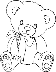 cute bear coloring pages wecoloringpage