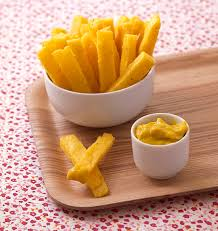 jeux de cuisine frite frites de polenta les meilleures recettes de cuisine d ôdélices