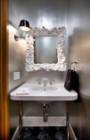 bathroom mirrors ideas bathroom eclectic with cove lighting crown