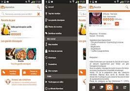 logiciel de recette de cuisine télécharger marmiton recettes de cuisine android play