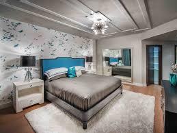 Large White Shag Rug Bedroom Large Brushed Steel Framed Mirror 2 White End Tables