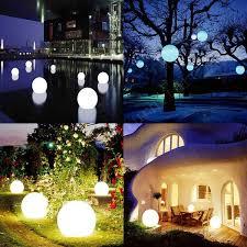 white plastic outdoor lighting big size white plastic 16colours change remote control led light