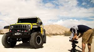 sand dune jeep a jeep wrangler gets a crazy desert stunt drive in pennzoil u0027s