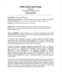 comprehensive resume format professional resume format exles