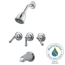 delta 3 handle tub and shower faucet best shower