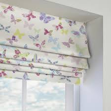Roman Blinds Made To Measure Purple Patterned Roman Blinds Made To Measure From Direct Blinds