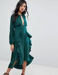 midi dresses shop midi dress styles asos