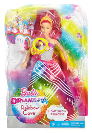 barbie rainbow cove light show princess dpp90 barbie