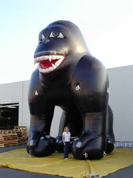 gorilla balloons gorillas for outdoor promotions