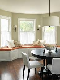 bay window curtain ideas houzz