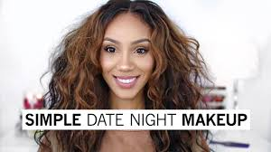 simple date night makeup look youtube