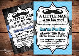 mustache invitations little mister mustache baby shower invitation little man