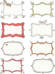 free doodle name doodle frames free search printables