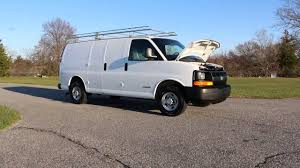 2006 chevrolet express 2500 cargo van for sale 4 8l bins and racks