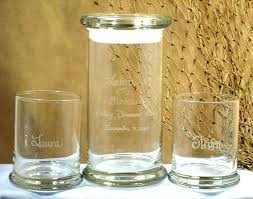 etched glass vase personalized amazon com personalized unity sand ceremony