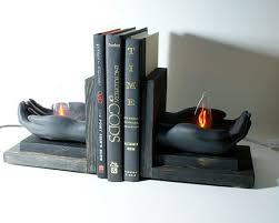 unique book ends bookends holding flames unique l by eclecticforest
