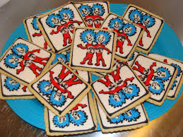 thing 1 and thing 2 baby shower door county custom cakes and cookies thing 1 and thing 2 baby