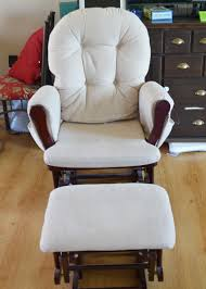 Recovering An Armchair Update A Nursery Glider Rocking Chair The Diy Mommy