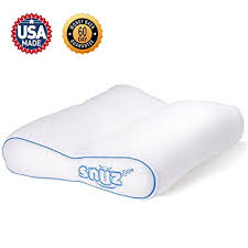 best bed pillows for neck pain best bed pillows for side sleepers amazon com