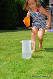 Backyard Picnic Games - water obstacle course water activities kids kids obstacle
