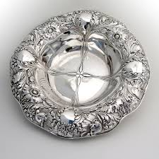 monogrammed serving dishes 95 best nouveau silver and jewelry images on