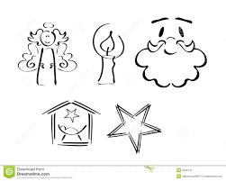 set of christmas symbols royalty free stock image image 3646776
