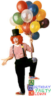 clowns for a birthday party a birthday party clown children s entertainers