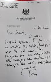 read tony blair u0027s letters to george w bush promising to back us