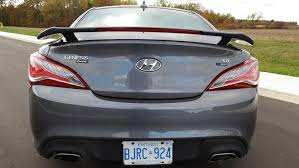 hyundai canada genesis 2015 hyundai genesis coupe r spec review wheels ca