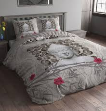 duvet cover u0026pillow case bedding set microfiber sleeptime uk buddha
