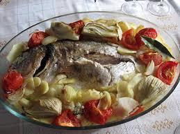cuisiner dorade royale recette de daurade royale au four et ses légumes
