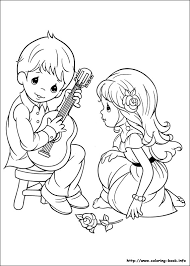 printable 18 precious moments couples coloring pages 7311
