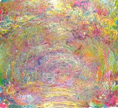 path under the rose trellises 1918 1924 claude monet