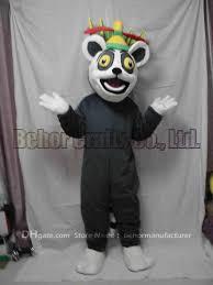 halloween mascot costumes cheap lemur king mascot costume cheap high quality carnival party fancy